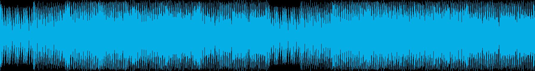 ジュリアナ系ハイパーテクノレイブの再生済みの波形
