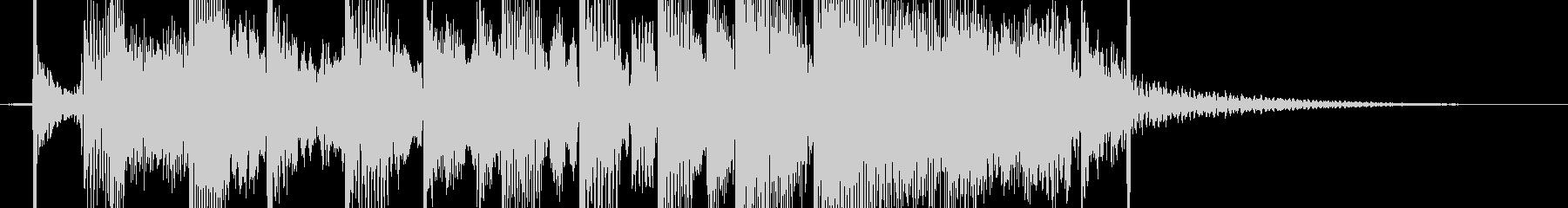 【ジングル】コミカルなジングルの未再生の波形
