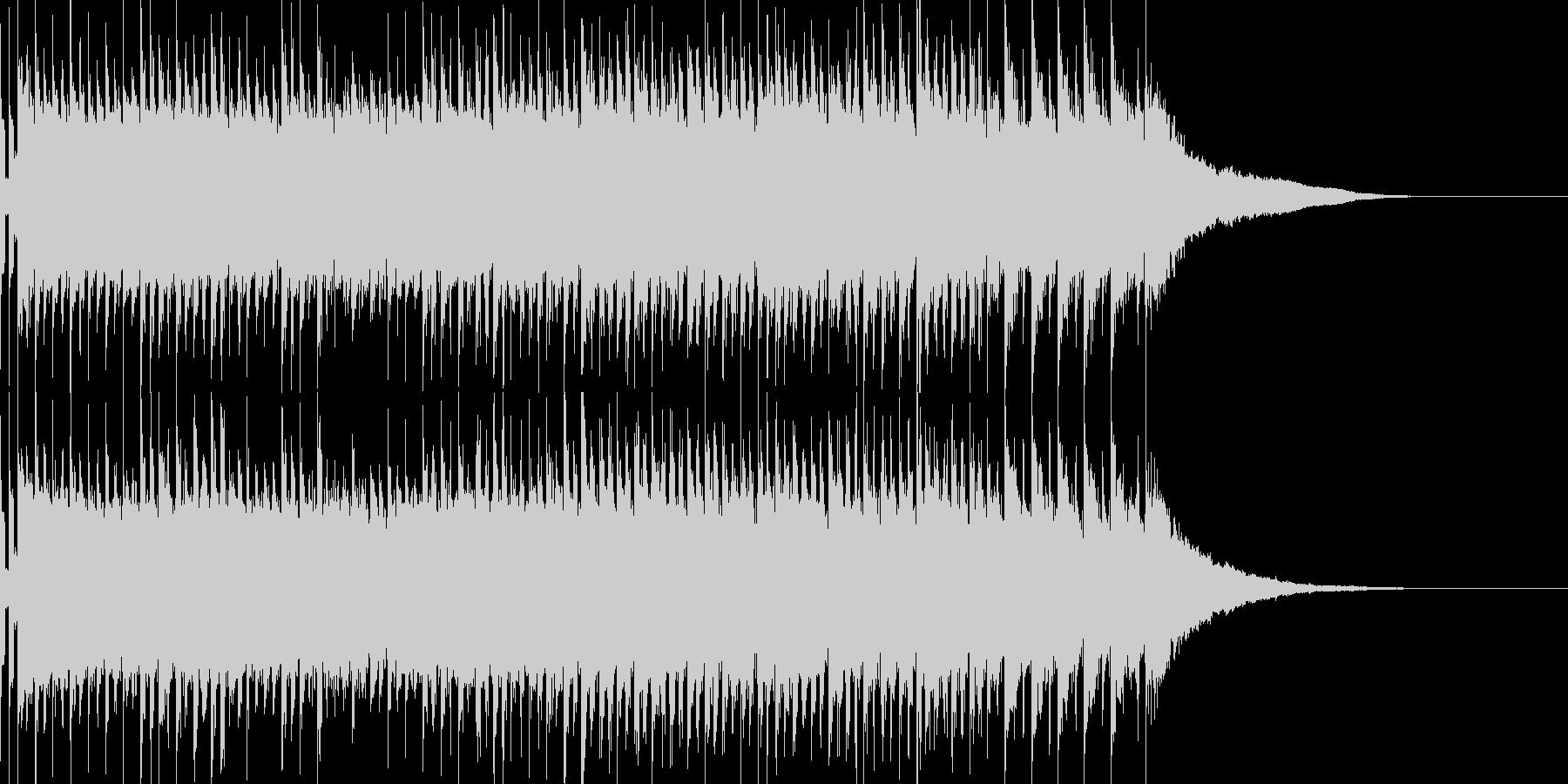 トランスユーロビート風EDMの未再生の波形