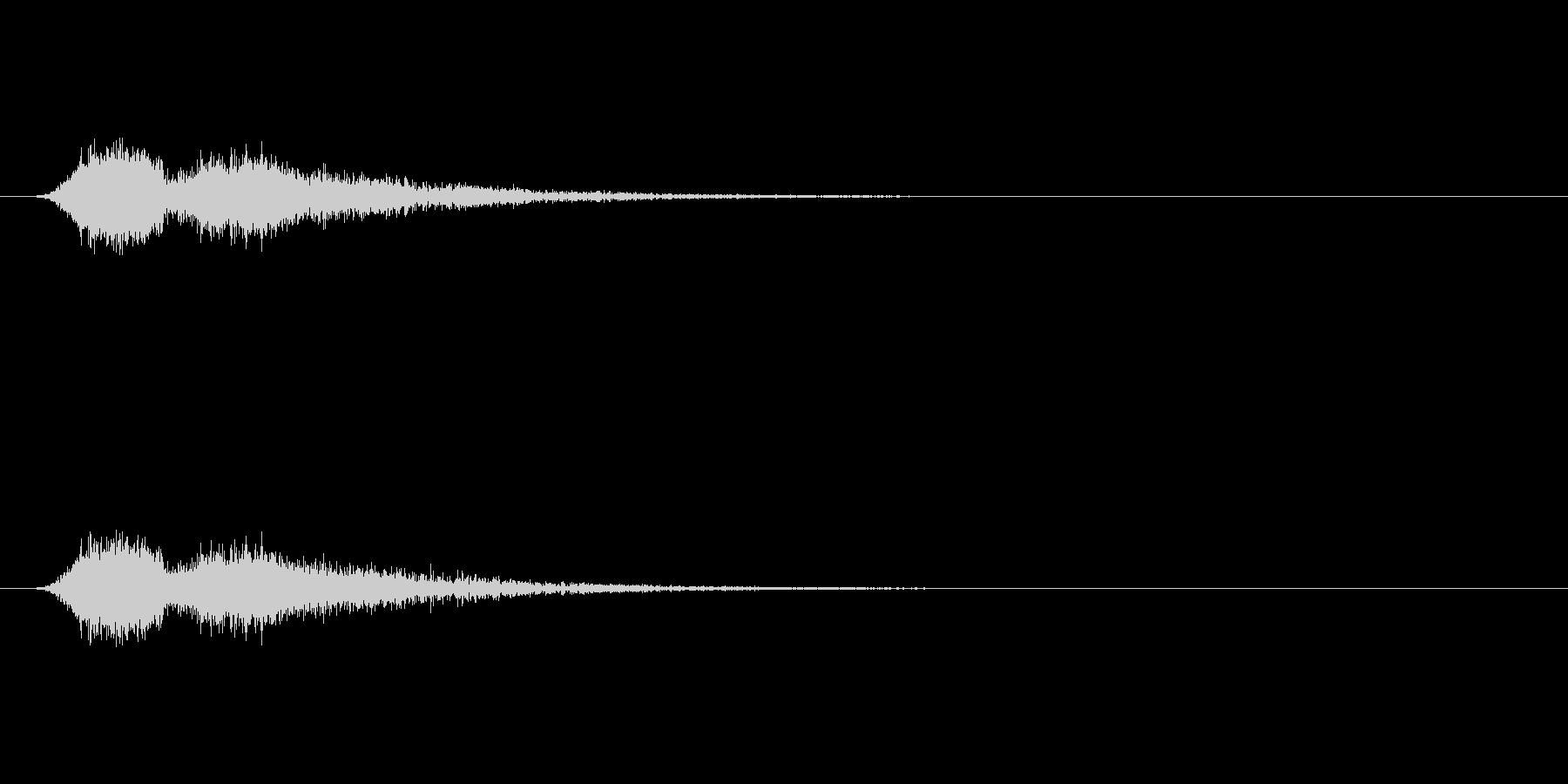 【ショートブリッジ25-2】の未再生の波形