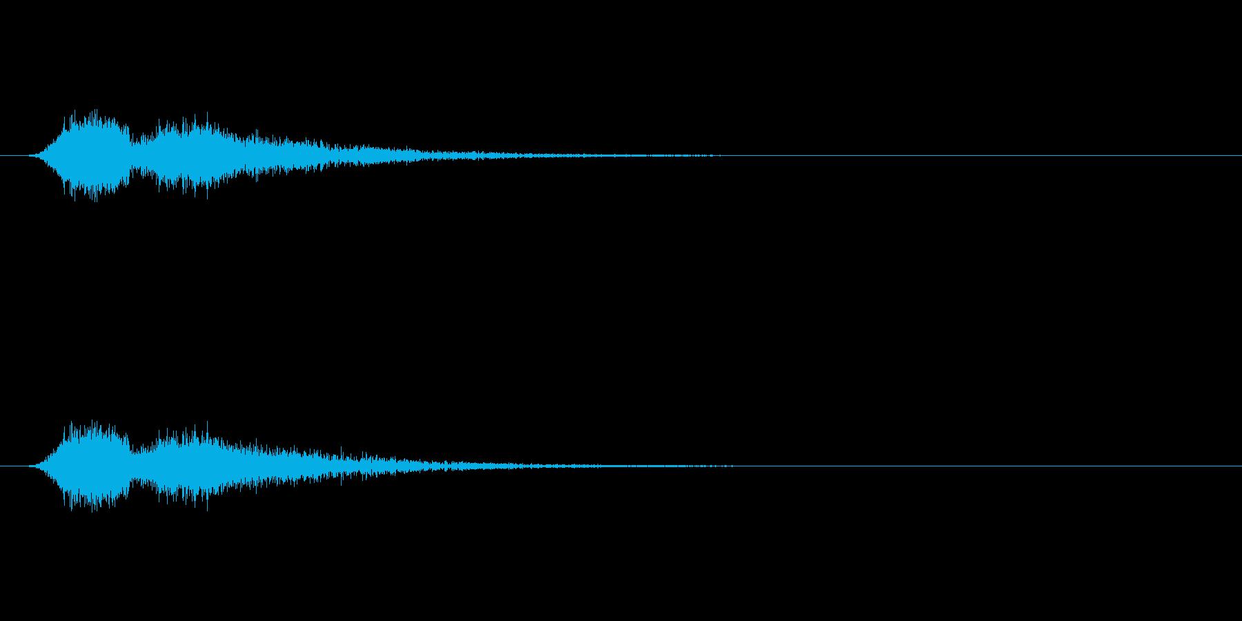 【ショートブリッジ25-2】の再生済みの波形