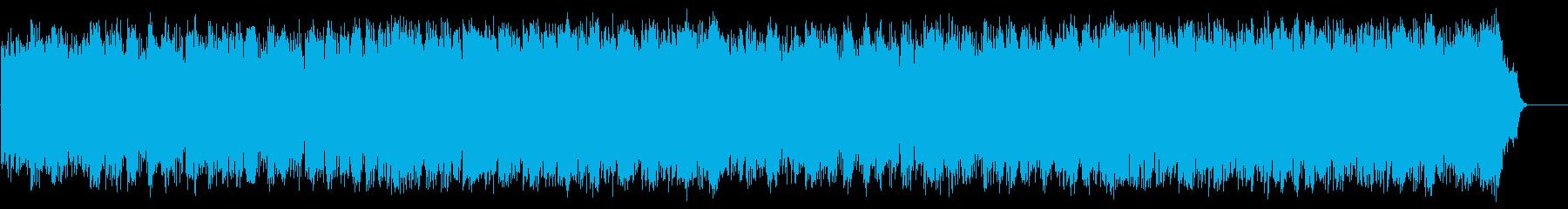 優しいポップフュージョン(フルサイズ)の再生済みの波形