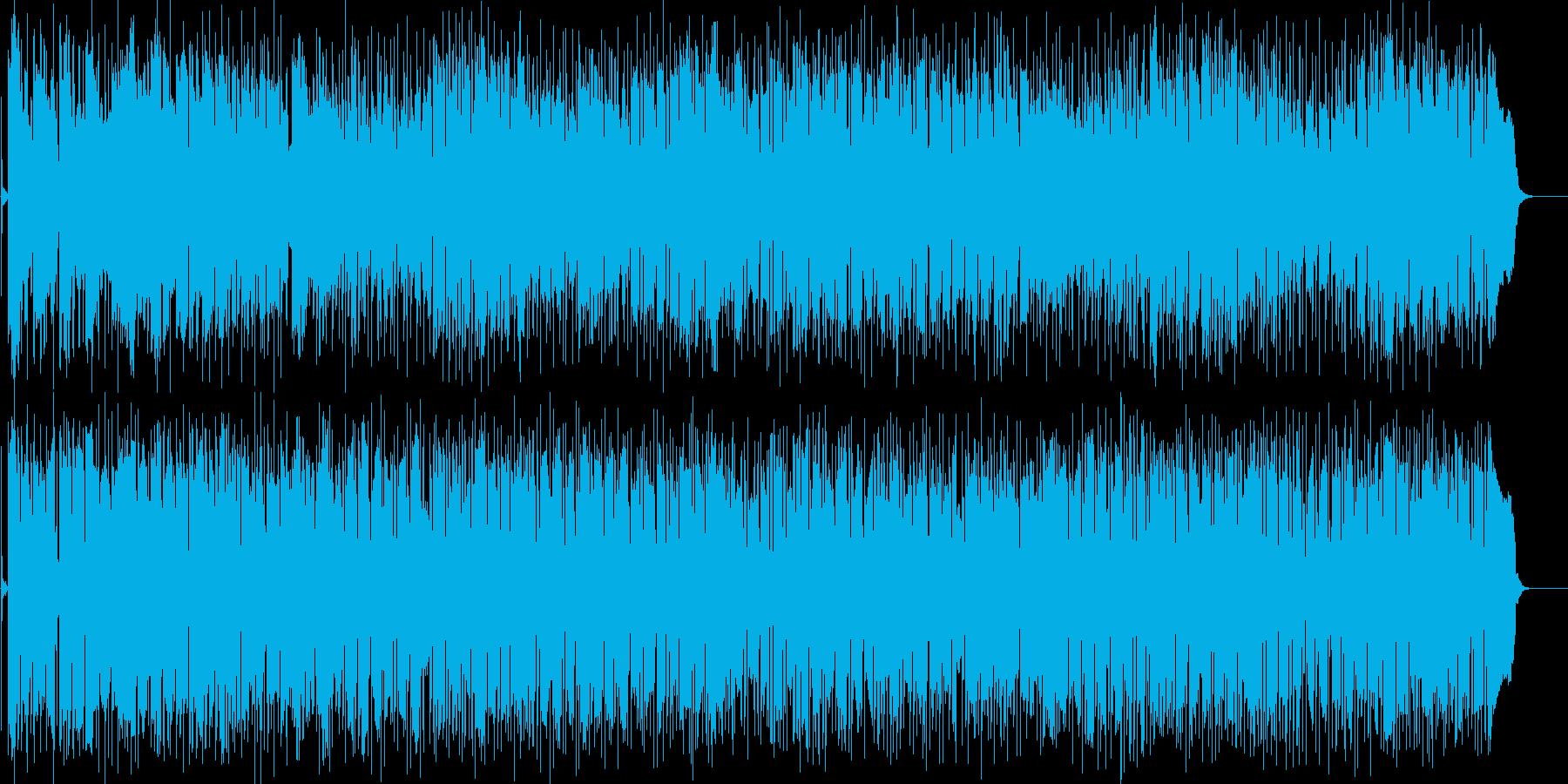 休日の爽やかアコーディオンの再生済みの波形