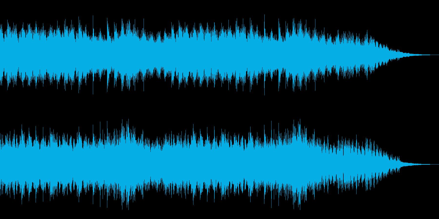 哀しみをイメージした、ピアノソロのBGMの再生済みの波形