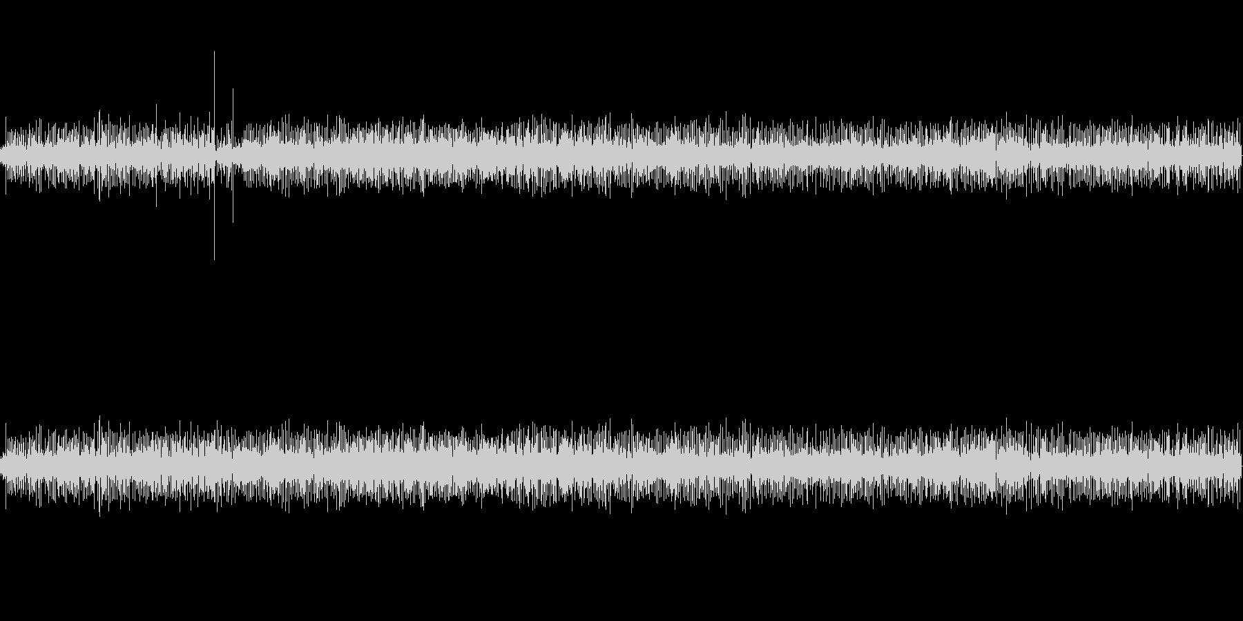【生音】 足音_キャリーバック_01の未再生の波形