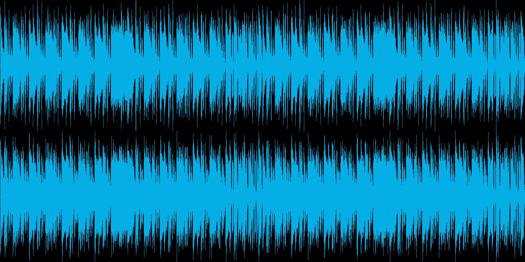 【レトロゲーム風BGM】の再生済みの波形