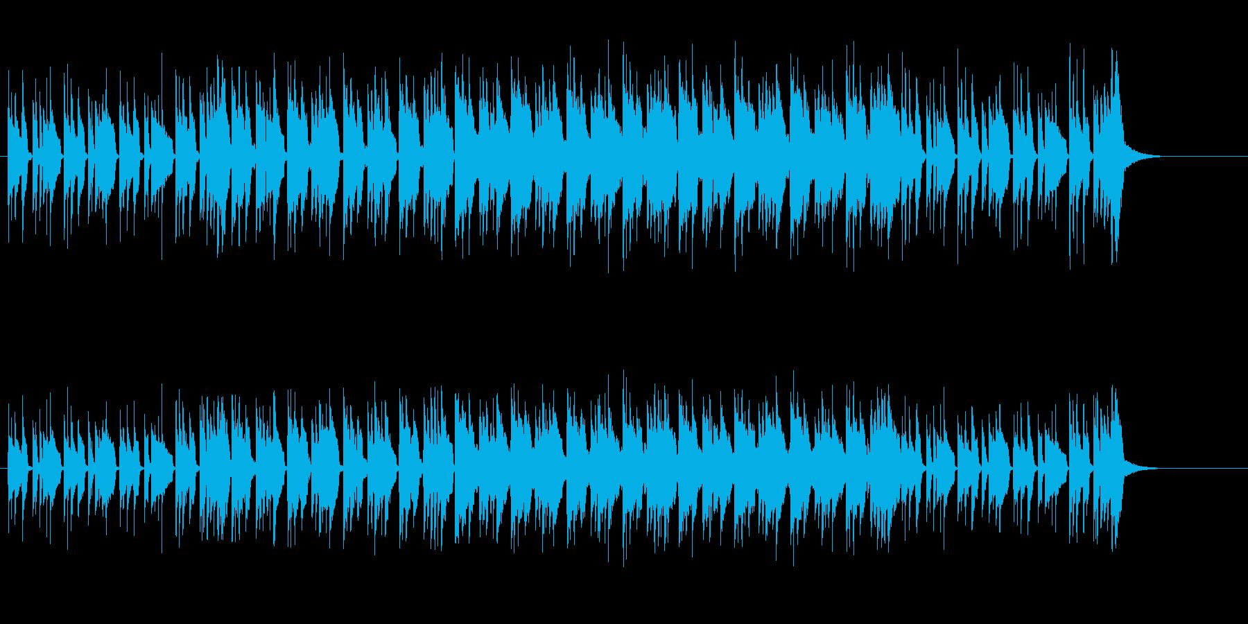 おふざけ調エレクトリック・ポップの再生済みの波形