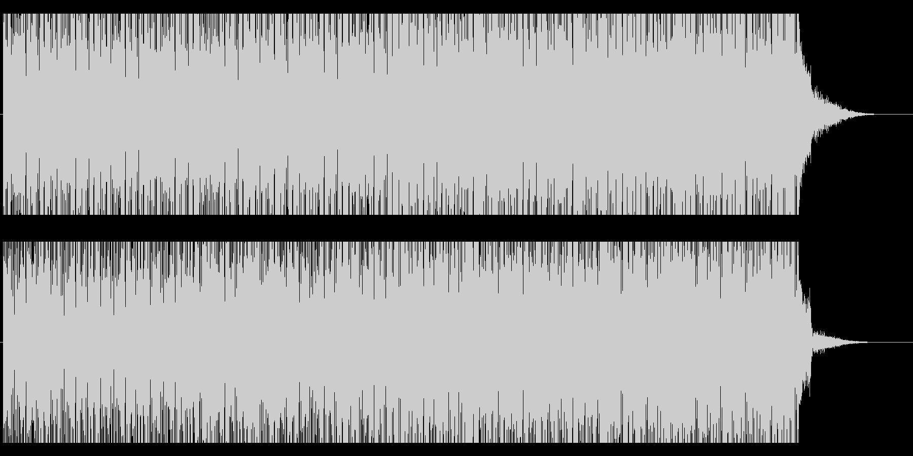 ヘッドライン ニュース のイメージ楽曲の未再生の波形