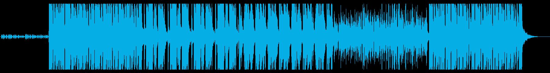 いたずら妖精をイメージした幻想的な楽曲の再生済みの波形