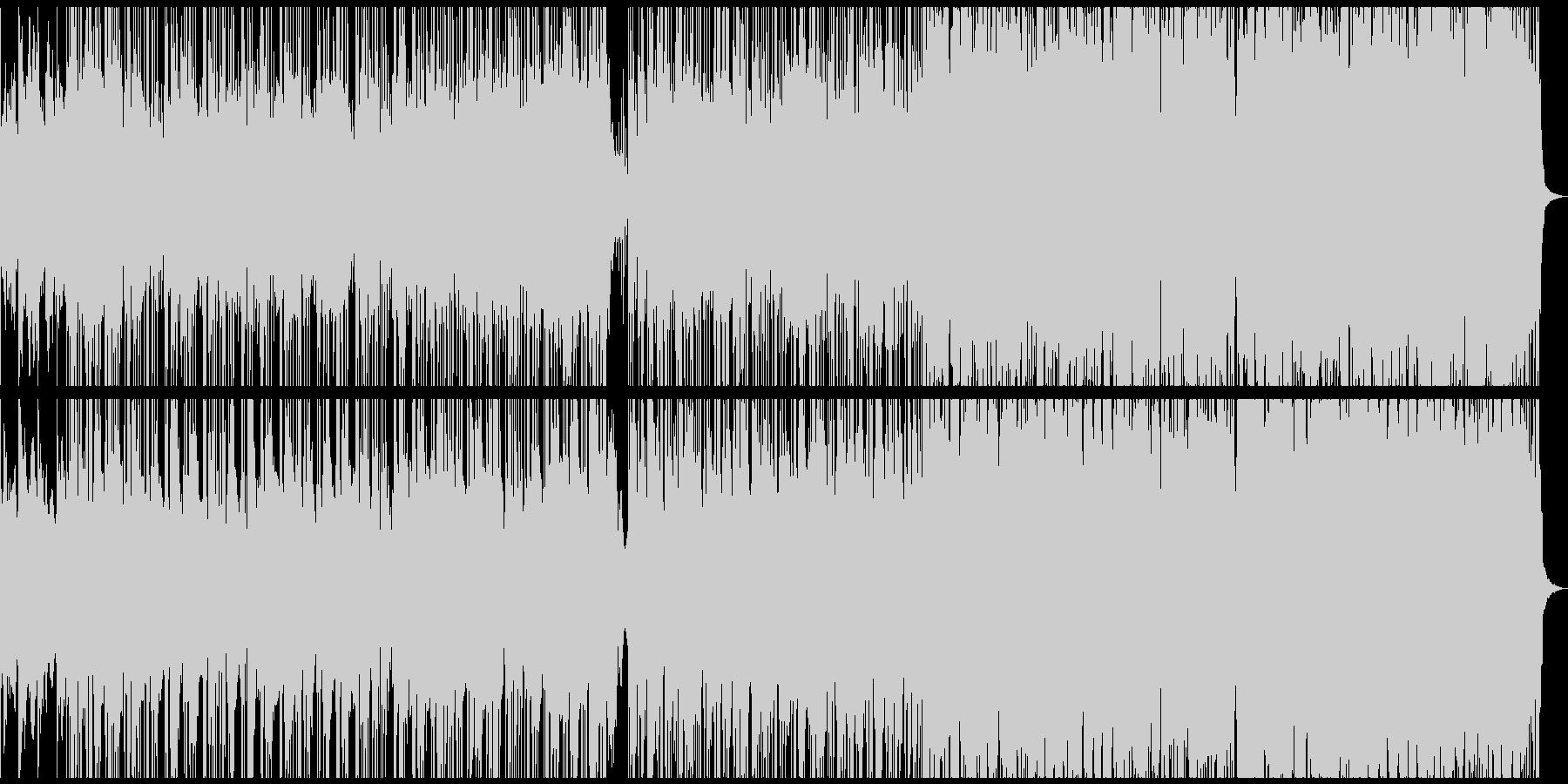 スライドショー、メモリアルビデオ用BGMの未再生の波形