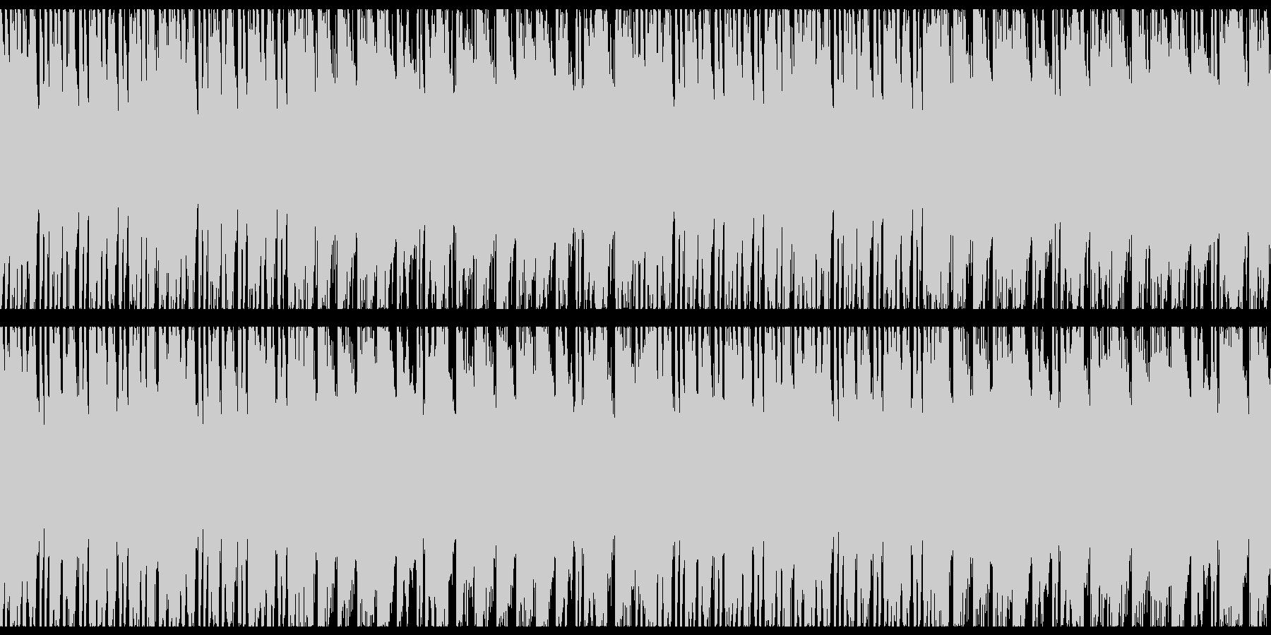 クリスマス・冬にピッタリの日常BGM-Uの未再生の波形