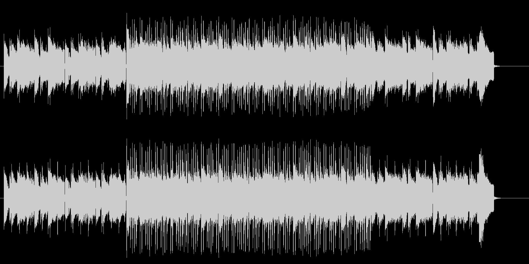 南国のエスニックなワールド系テクノポップの未再生の波形