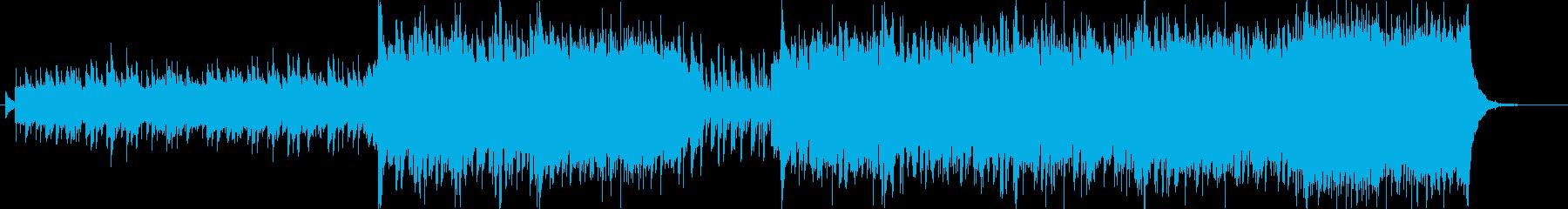 白鳥の湖 ポップアレンジ曲の再生済みの波形