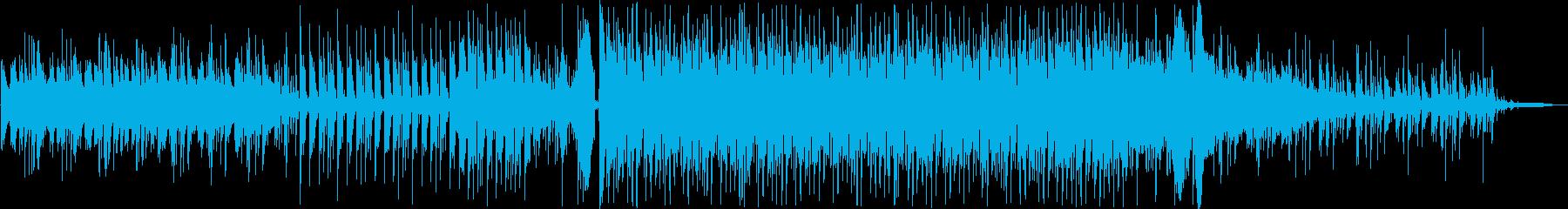 オープニングに合う軽快なテクノポップの再生済みの波形