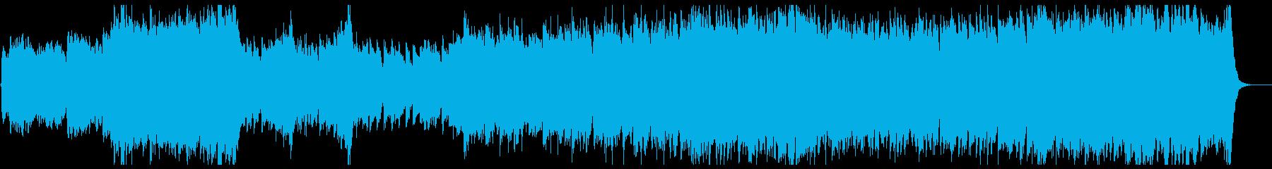 和風日本風・壮大なファンファーレ&行進曲の再生済みの波形