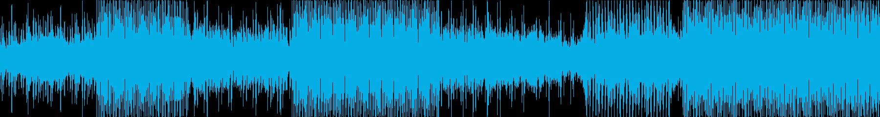 [少しふわふわしたクラブミュージック]の再生済みの波形