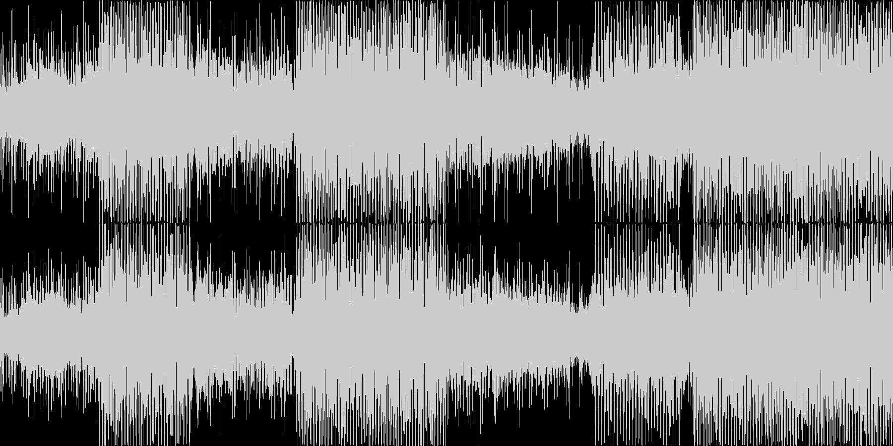 [少しふわふわしたクラブミュージック]の未再生の波形