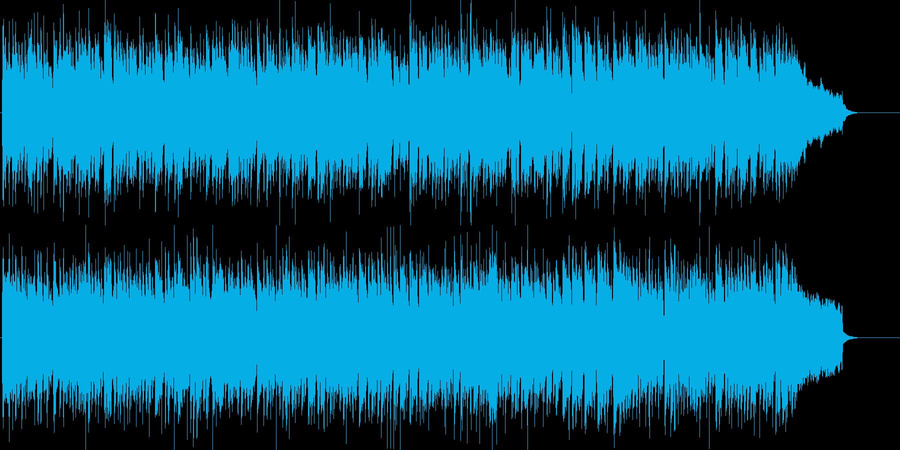陽気な中に哀愁が漂うラテン音楽の再生済みの波形