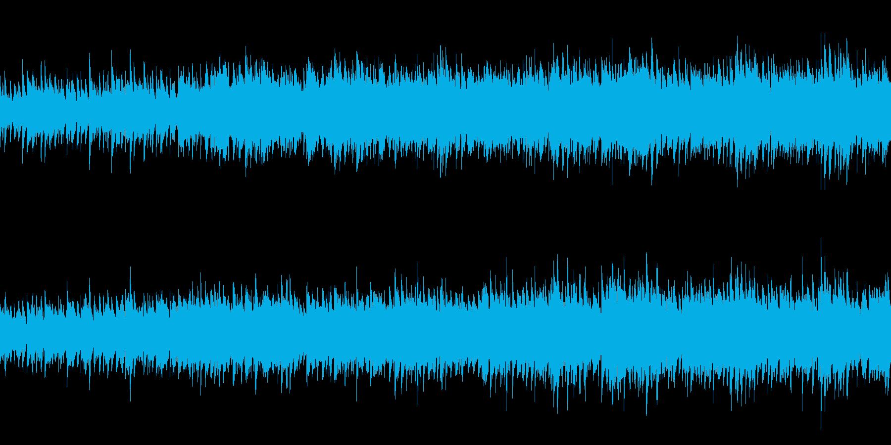 悲しげポップ (ループ仕様)の再生済みの波形