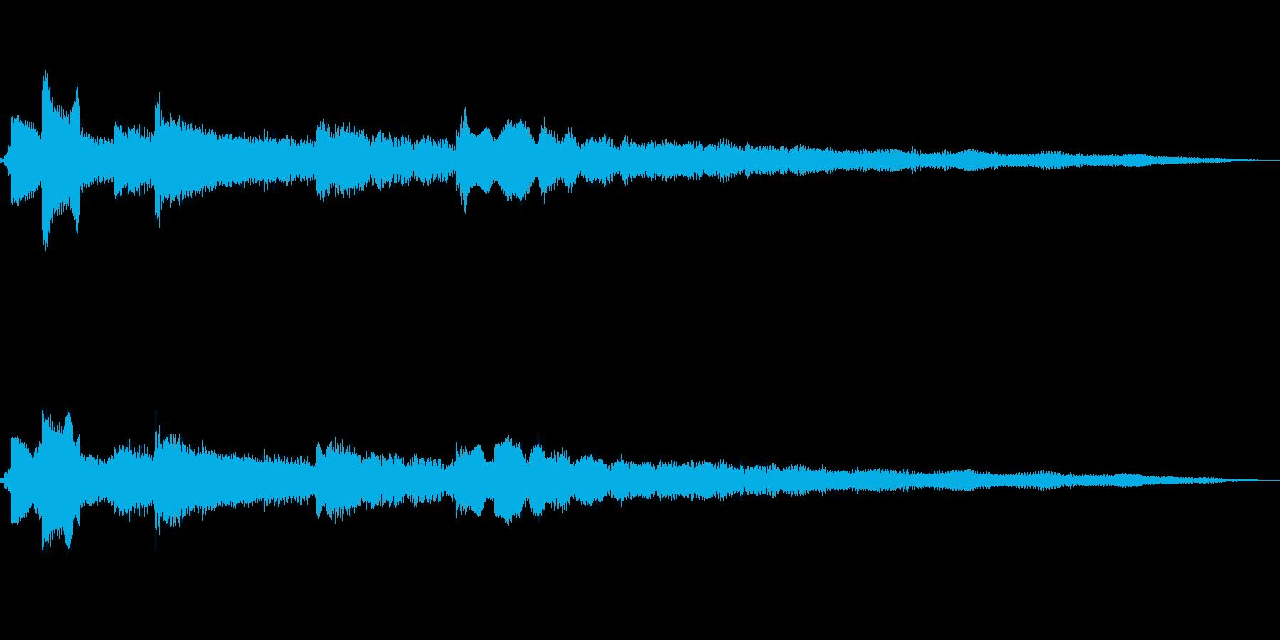 メロウなエレピアノサウンドの再生済みの波形