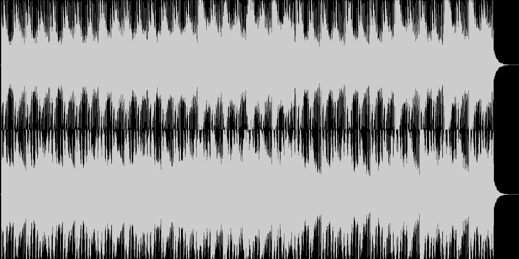 笙・琵琶等の和楽器を使った怪しげな曲の未再生の波形