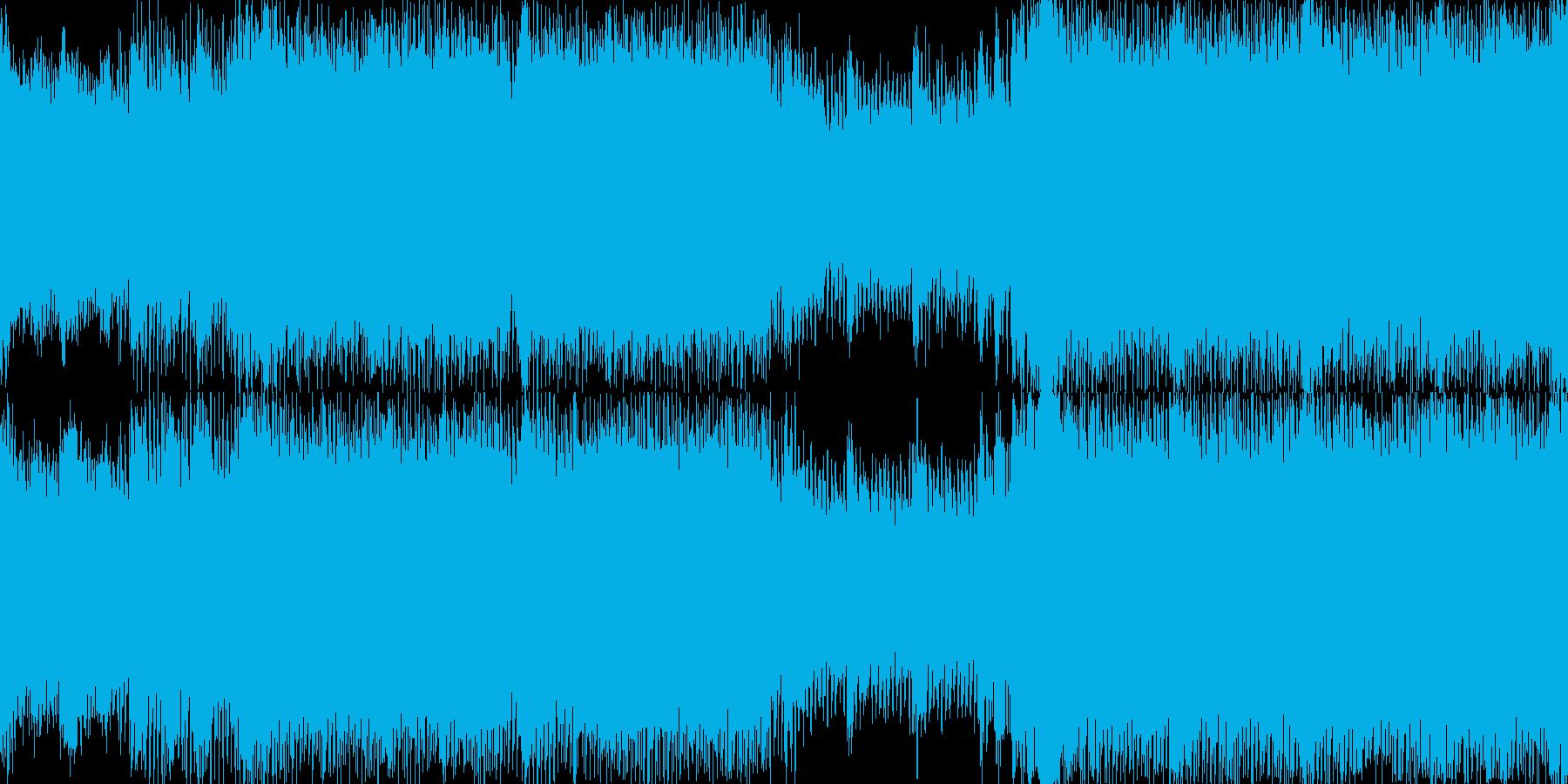爽やかハイスピード系の曲<short,…の再生済みの波形