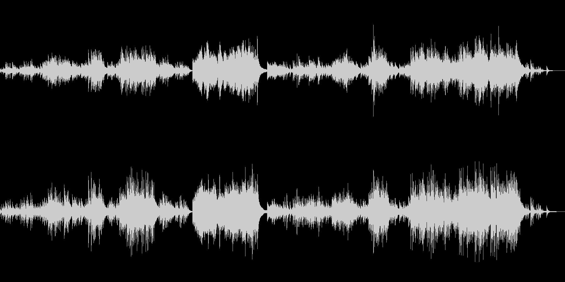 C=528Hz 癒しのピアノ ゆったりの未再生の波形