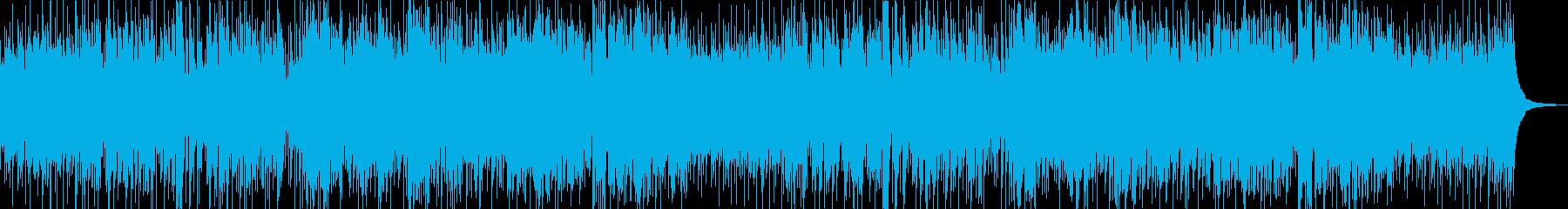切ないポップスの再生済みの波形