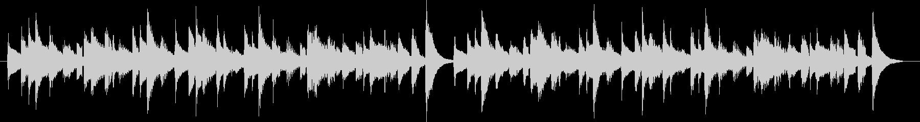 20秒のシンプルで短いコミカルな曲です。の未再生の波形