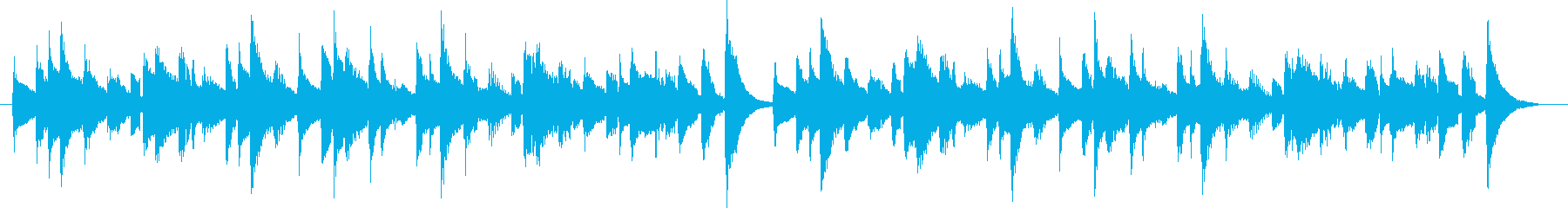 20秒のシンプルで短いコミカルな曲です。の再生済みの波形