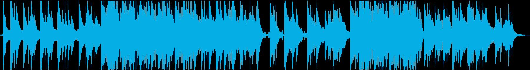 ピアノが印象的なインスタレーション音楽3の再生済みの波形