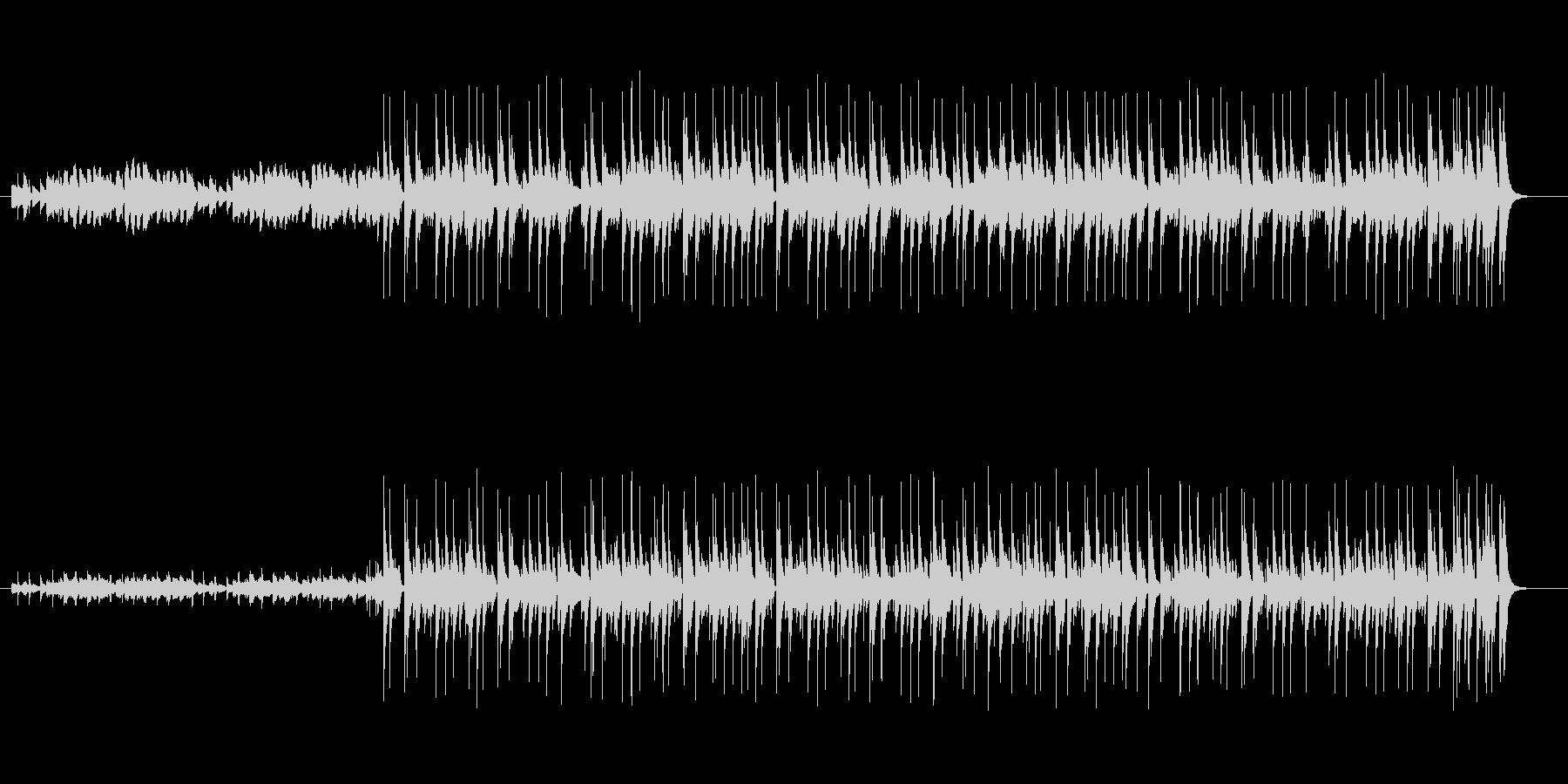 ピアノ伴奏のポップなインスト曲ですの未再生の波形
