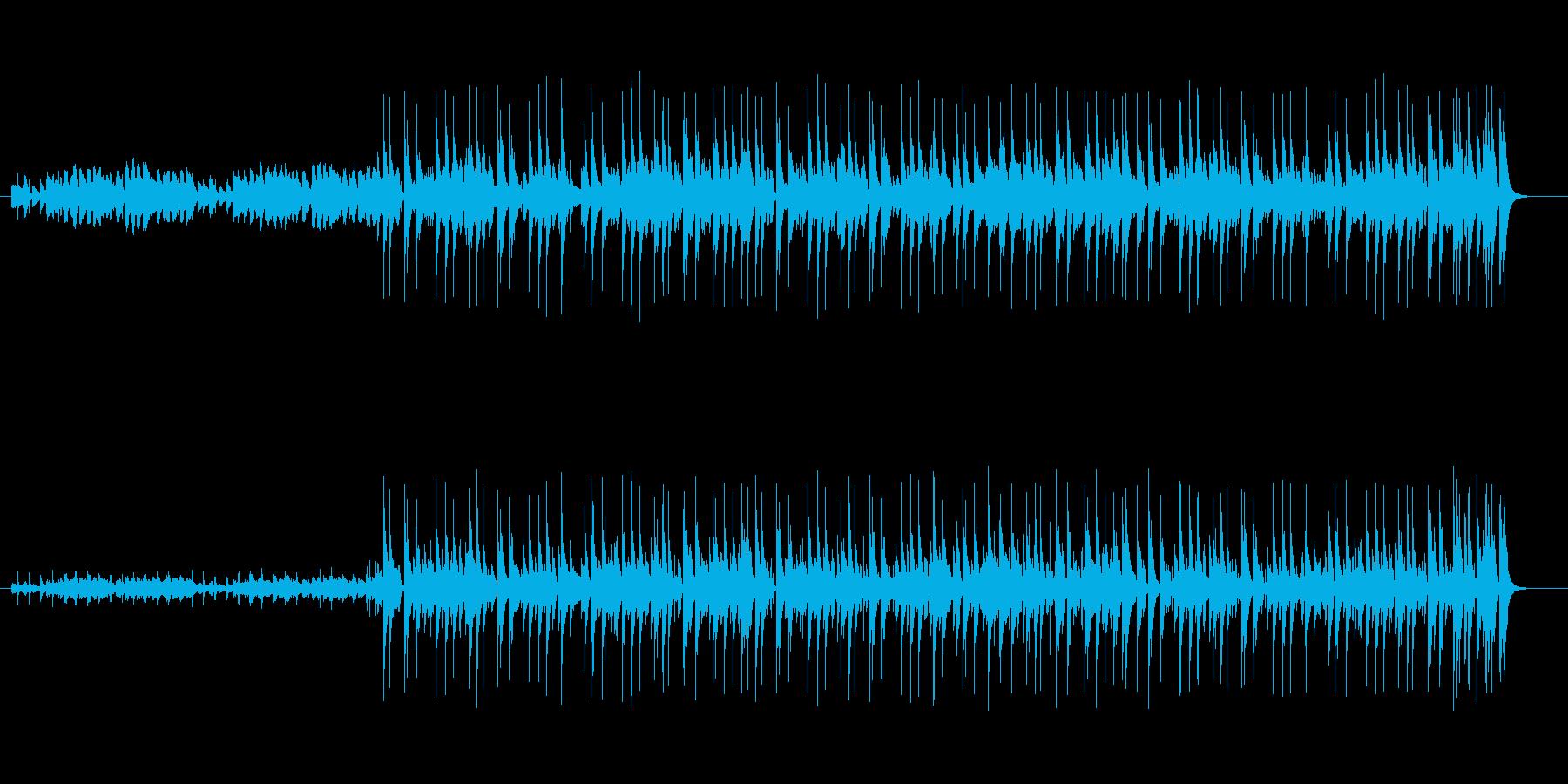 ピアノ伴奏のポップなインスト曲ですの再生済みの波形