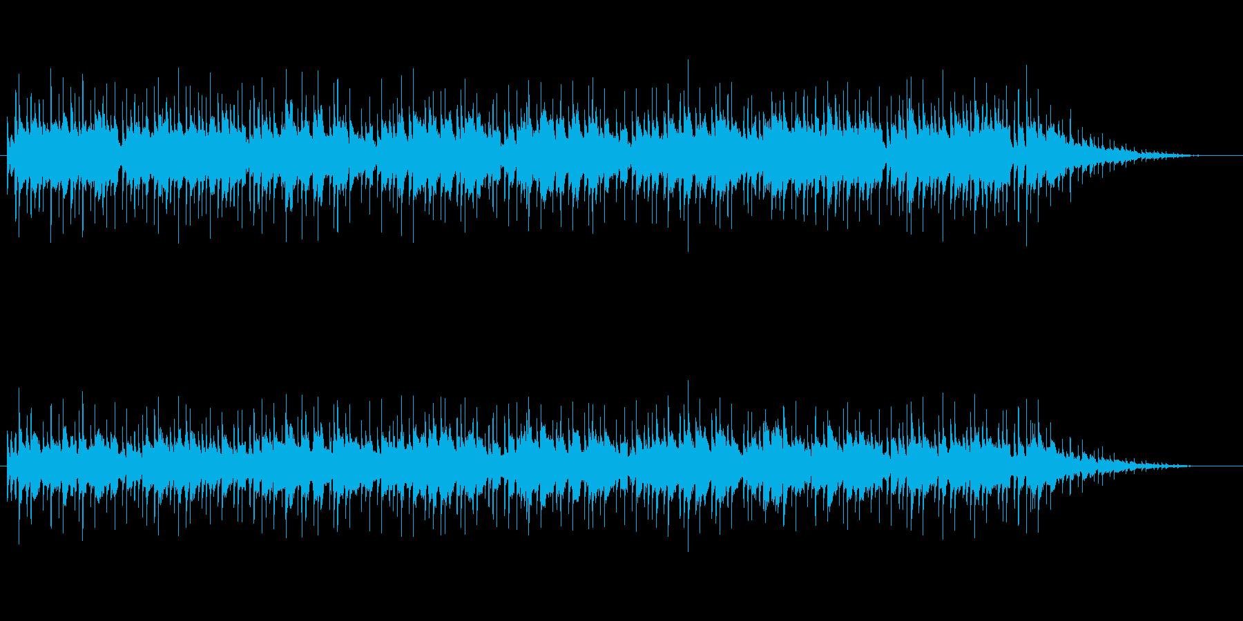 ほのぼのする癒し系ニューミュージックの再生済みの波形