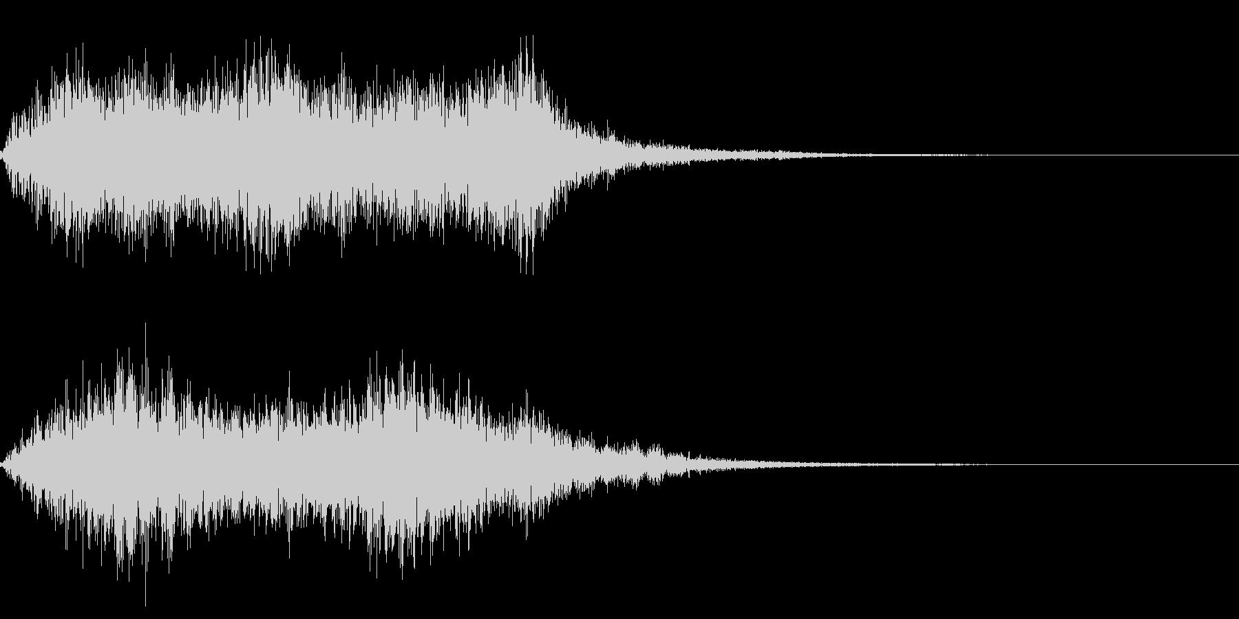 効果音 グォー  木や水 魔物の未再生の波形