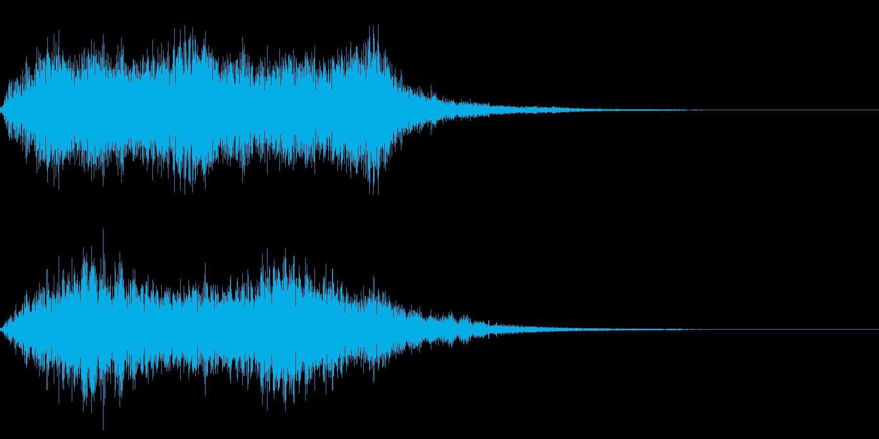 効果音 グォー  木や水 魔物の再生済みの波形