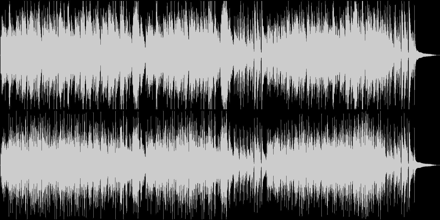 エンディングBGM 優しい爽やかバラードの未再生の波形
