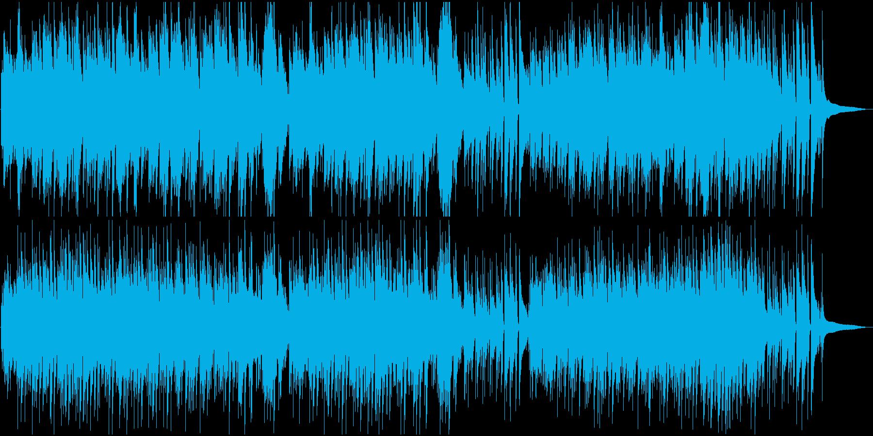 エンディングBGM 優しい爽やかバラードの再生済みの波形