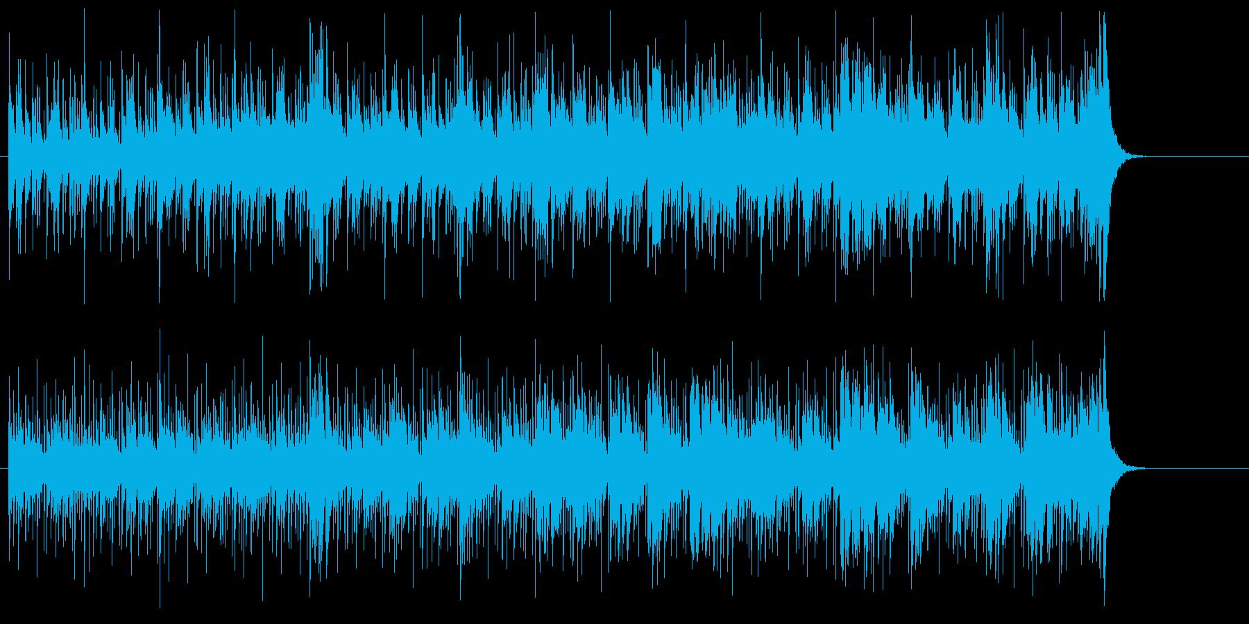 アイランド気分のラテン系オープニングの再生済みの波形