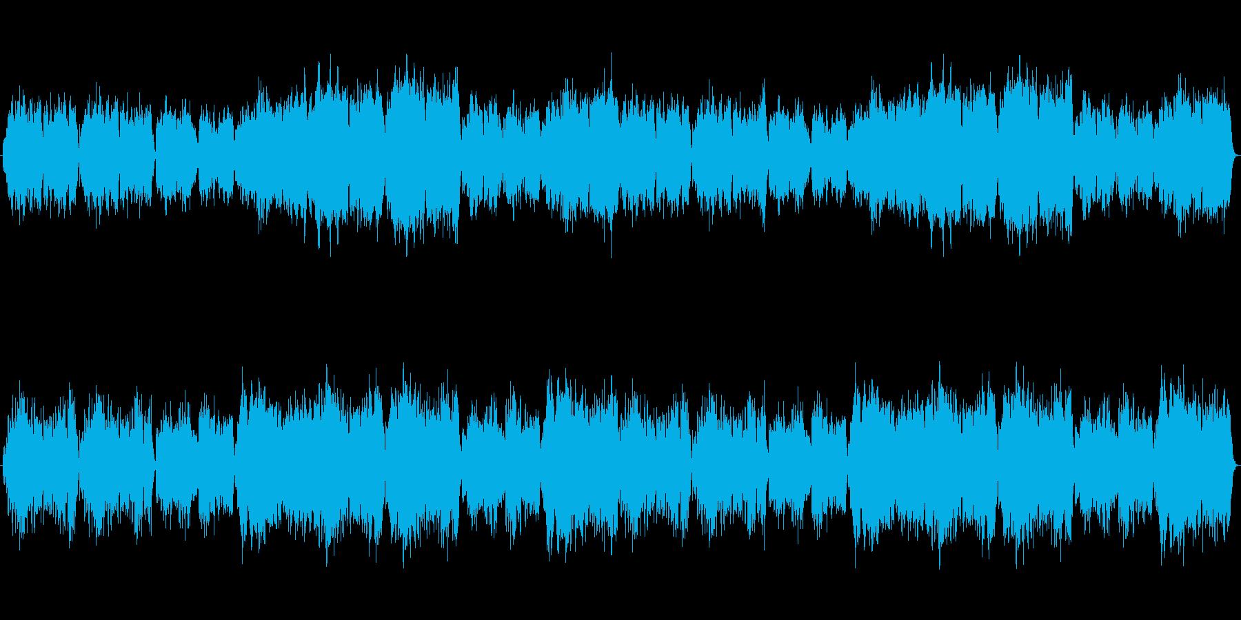 ほのぼのとした港町 村【ループ可】の再生済みの波形