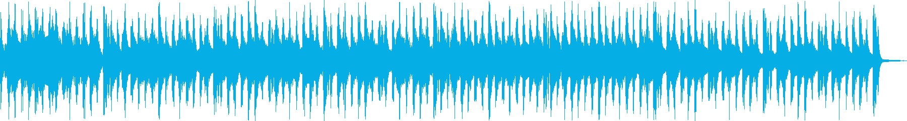 カジノをイメージしたゲームBGMの再生済みの波形