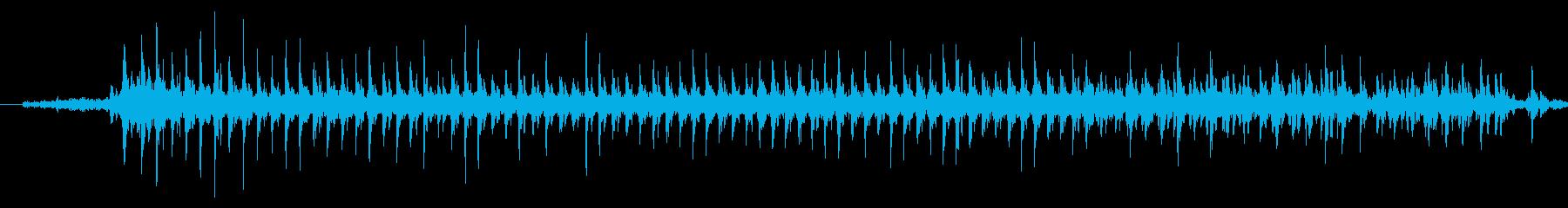ドリルの音です。の再生済みの波形