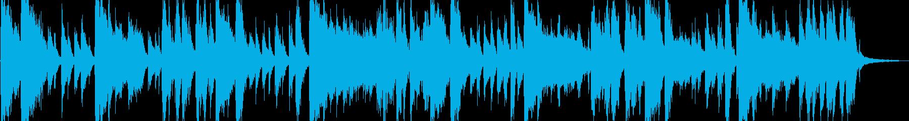 ラテン風の激しめなジングルの再生済みの波形