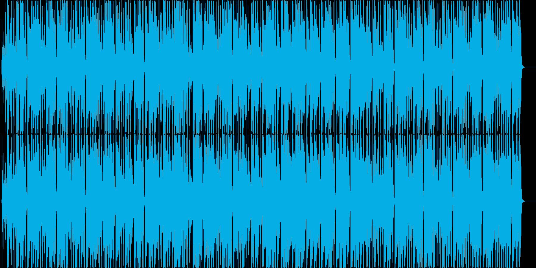 汎用性のある日常系BGMの再生済みの波形