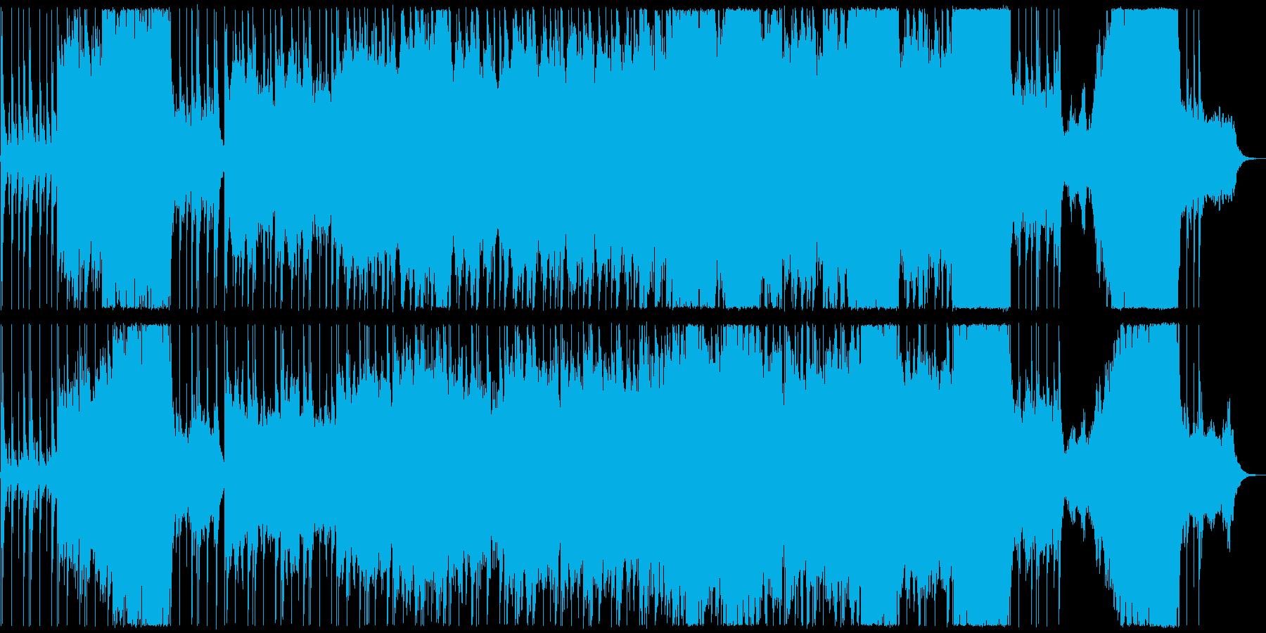 壮大な曲。の再生済みの波形
