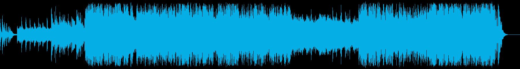 さわやかでちょっと切ないメロディの再生済みの波形