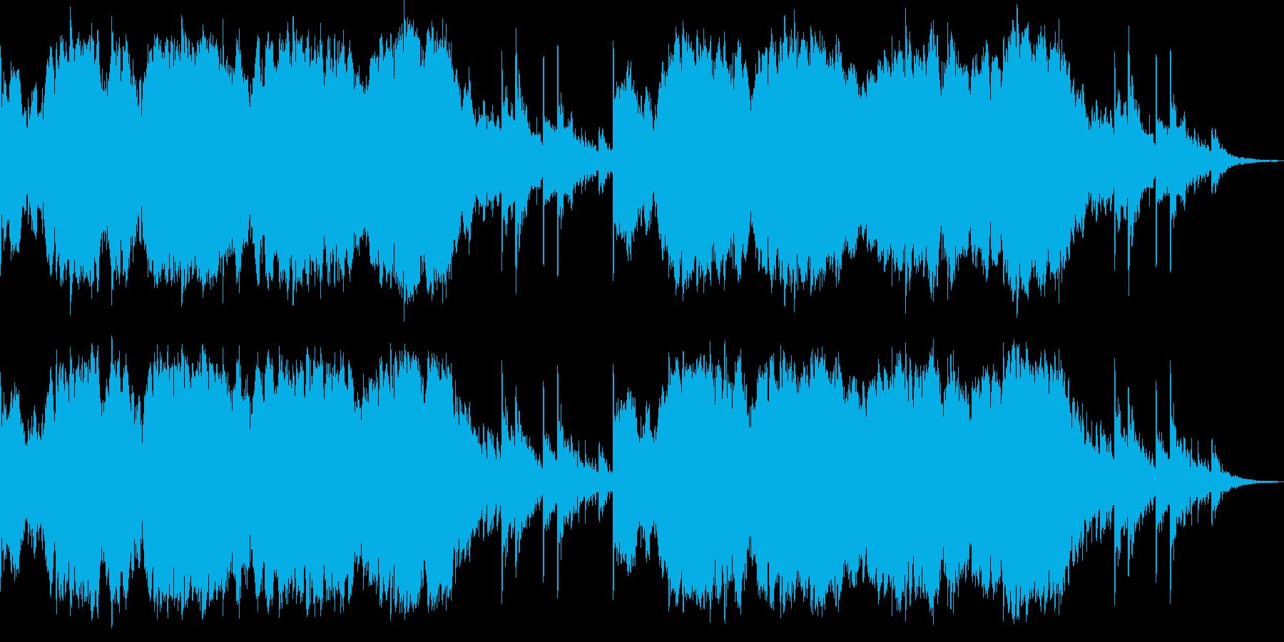 和風イメージの雰囲気ものです。の再生済みの波形