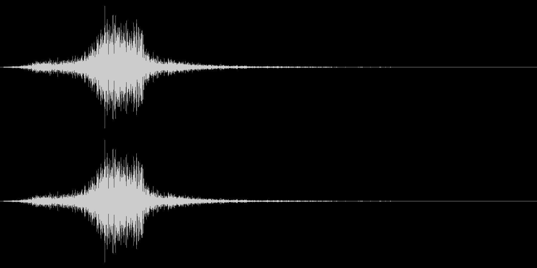 弓矢を放った時の効果音 05の未再生の波形