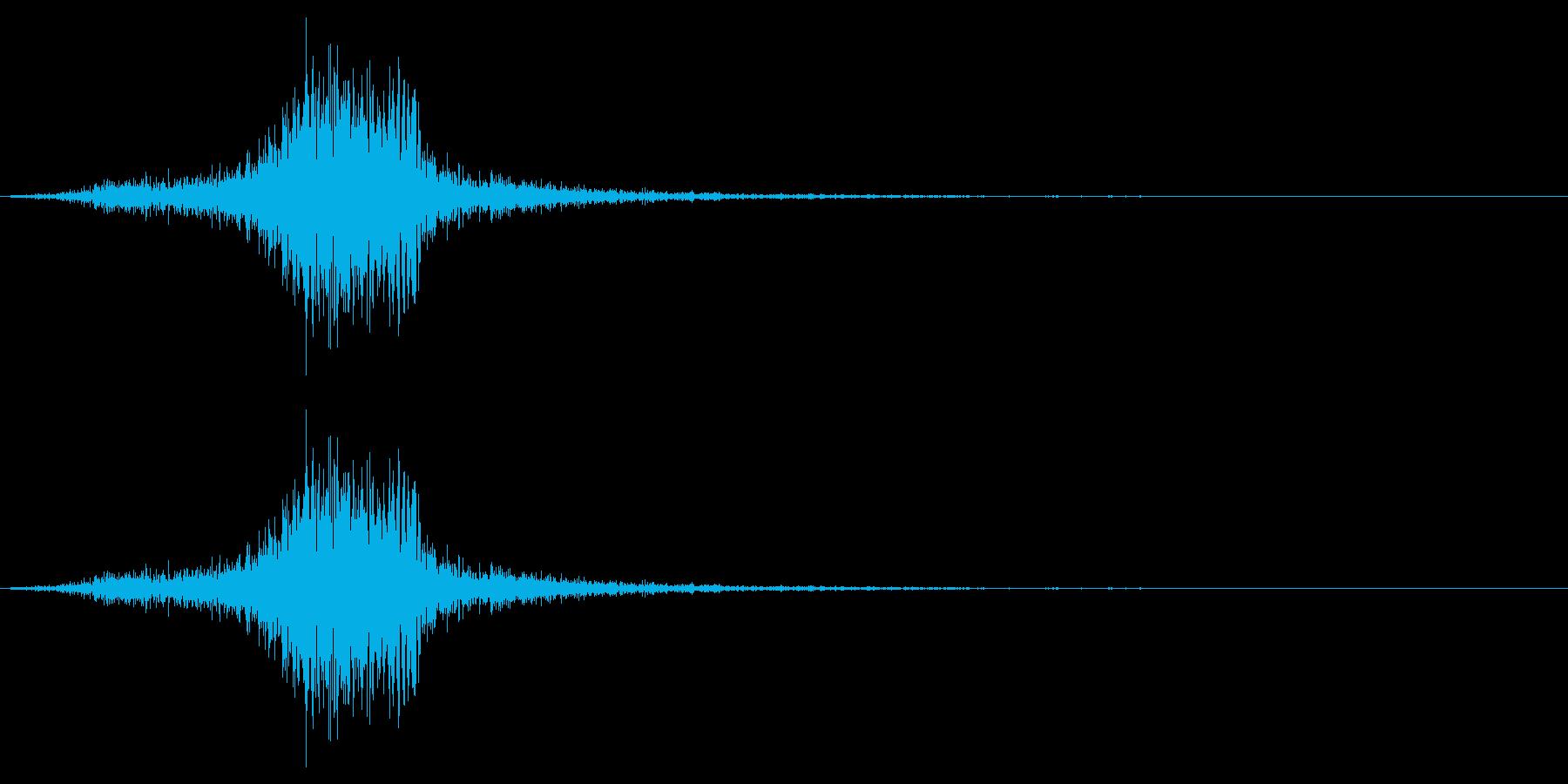 弓矢を放った時の効果音 05の再生済みの波形