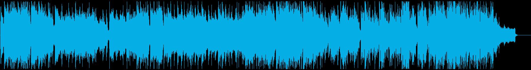 クールゆっくりモダンジャズ サックス生録の再生済みの波形
